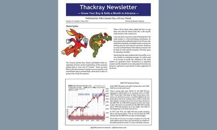 Thackray Newsletter 2020 MAY