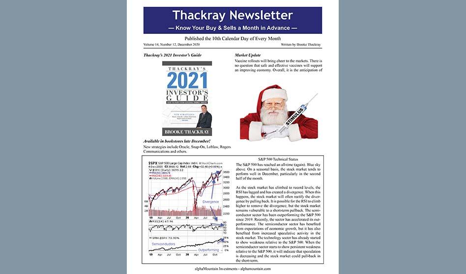 Thackray Newsletter 2020 DECEMBER