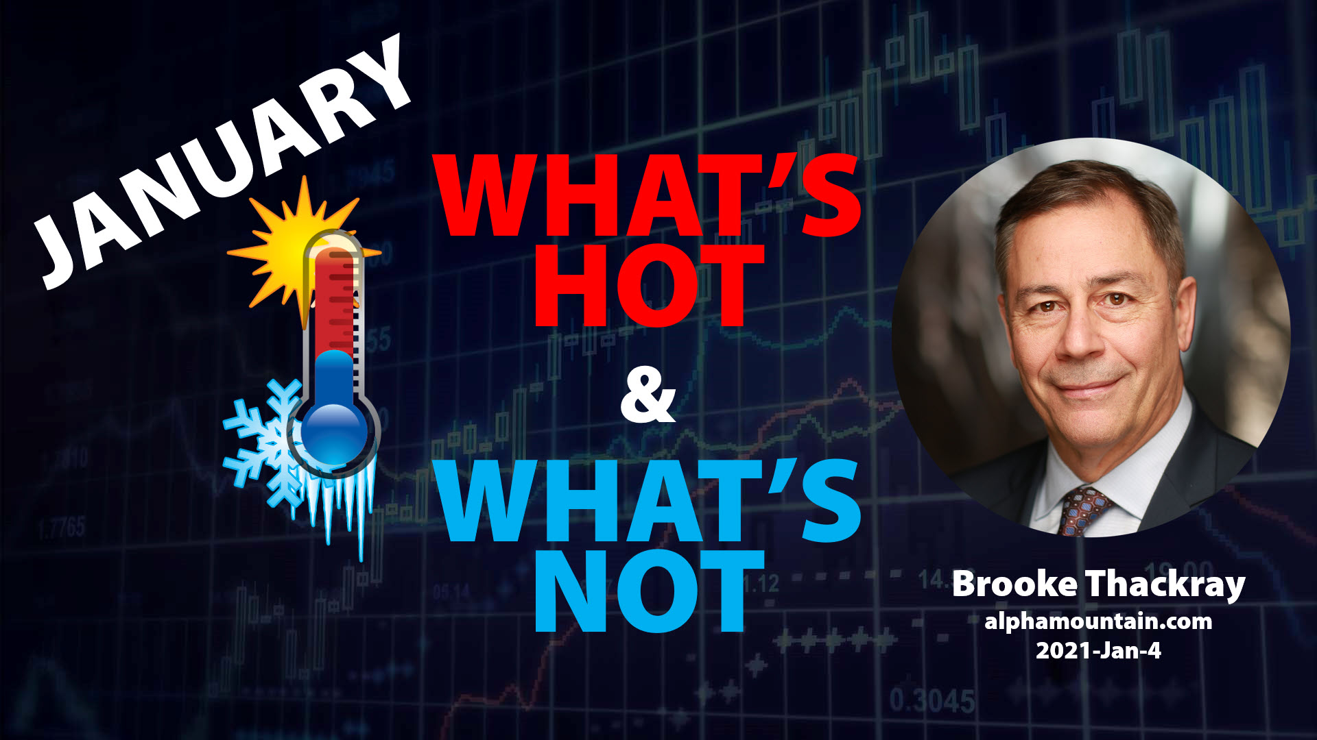 Video – WHAT'S HOT & WHAT'S NOT- JANUARY – PLUS FOCUS SECTION ON SILVER