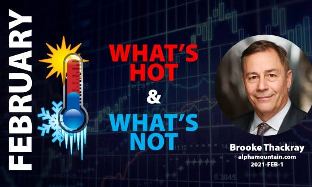 Video – WHAT'S HOT & WHAT'S NOT- FEBRUARY – Feb 01, 2021