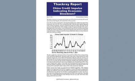 Thackray's Report- China Credit Impulse Indicating Economic Slowdown?