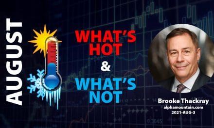 Video – WHAT'S HOT & WHAT'S NOT- AUGUST 2021