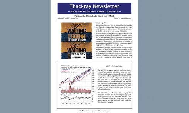 Thackray Newsletter 2021 August