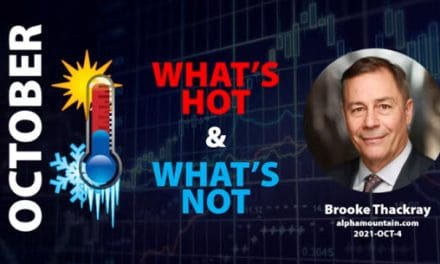 Video – WHAT'S HOT & WHAT'S NOT- October 2021